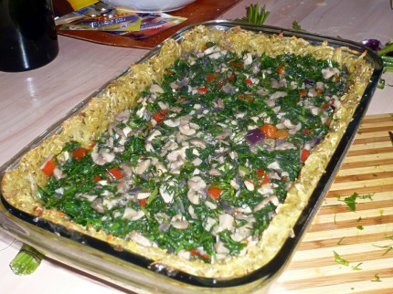 Quiche recipe - work in progress