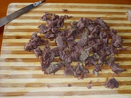 Chopped beef